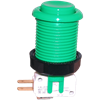 Happ Pushbutton W / Horizontal Micro-Switch - Green