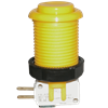 Happ Pushbutton W / Horizontal Micro-Switch - Yellow