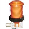 Happ Pushbutton W / Horizontal Micro-Switch - Orange
