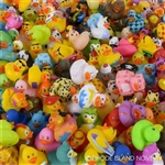 "2"" RUBBER DUCKY ASSORTED"