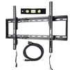 "7pc Ultra Slim Flat TV Wall Mount Kit 37""-75"""