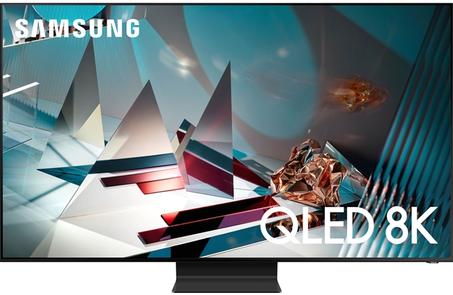 "Samsung QN65Q800T Series 65"" Smart QLED 8K UHD TV with HDR (2020)"