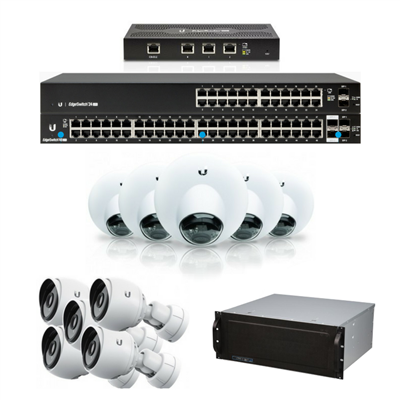 Network Video Recorder (NVR) Bundle with 18 Cameras