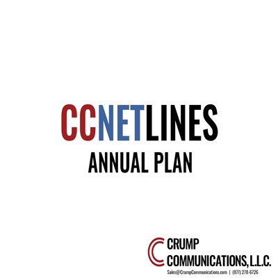 CCNetLines SIP Trunking - Unlimited Everything - Annually Plan