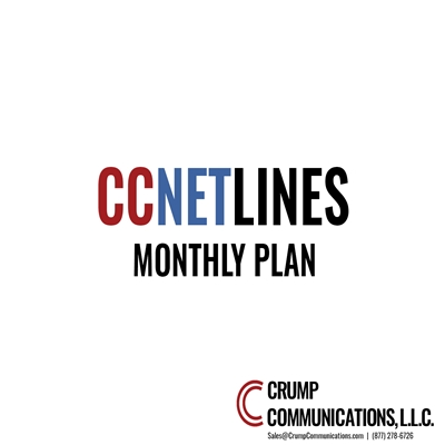 CCNetLines SIP Trunking - Unlimited Everything - Monthly Plan