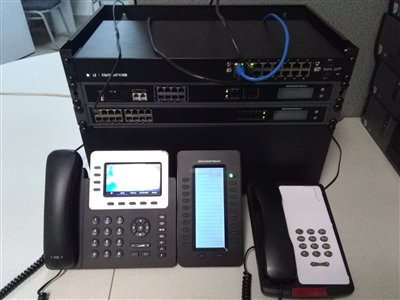 Grandstream Hotel Motel 24 Room IP PBX