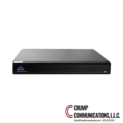 Montavue 8 Channel 4K H.265 NVR