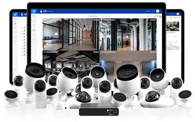 UniFi Protect NVR Bundle with 20 Cameras