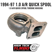 1994-1997 Ford 1.0 a/r Quick Spool Turbine Housing
