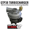 1999.5-03 Ford Powerstroke Stock Turbo with Anti-Surge Wheel (GTP38)