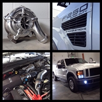 2008-10 6.4L Ford Powerstroke Low Pressure Upgrade (Billet 71mm)