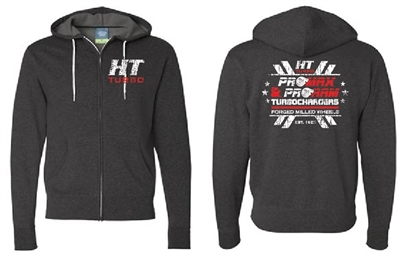 HT Turbo Zippered Lightweight Hoodie