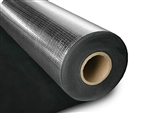 "SoundAway 1/8"" x 4.5' x 30' MLV Sound Barrier Roll w/ One Foil Side"