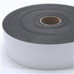 "Neoprene 1/4"" x 8"" x 50' Soundproofing Isolation Gasket Tape"