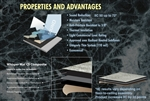 WhisperMat-CS Acoustic Underlayment for Stone & Tile Floors