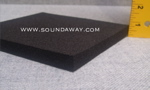 "SoundAway Closed Cell Foam Soundproof Mat | 1/2"" x 4' x 1'"