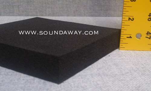 1 Quot Soundaway Closed Cell Foam Soundproof Mat 1 Quot X 4 X 1