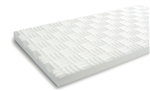 "SONEX One 2"" x 2' x 4' Natural White Soundproofing Panels"