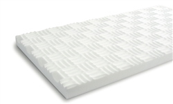 "SONEX Valueline Natural White Acoustic Panels: 2-1/2"" x 2' x 4'"
