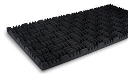 "Sonex Classic Acoustic Panels in Charcoal Colortec | 2"" x 2' x 4'"