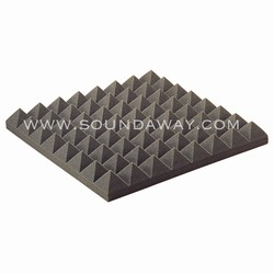 "SoundAway Urethane Acoustic Pyramid Panels | 3"" x 2' x 2'"