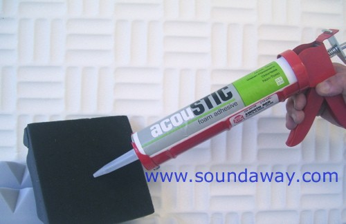 Soundaway Acoustic Adhesive Applicator For 10 Oz Tubes