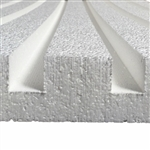 "Echo Drop PEPP Acoustical Panels for Soundproofing: 2""x2'x4'"