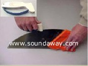 Insul-Knife and Accusharp tool sharpener