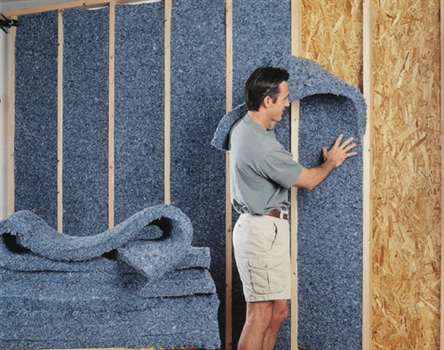 Room Acoustic Insulation : Ultratouch denim insulation pack quot