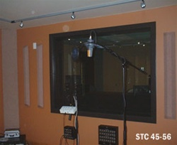 Noise Control Studio Window | 56 STC Sound Reduction