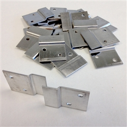 Z-Clips: Box of 100 Support Clips for Fiberglass Acoustic Panels