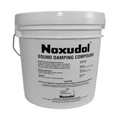 Noxudol 3100 Sound Damping Elastic Compound - 1-gallon