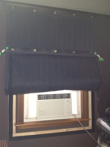 Custom Window Cover Removable Noise Barrier for Windows