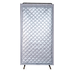 SC1030 Acoustic Noise Barrier: 4.5' x 8' Vinyl Screen & Frame
