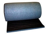 "UltraLiner Sound Absorbing Blanket | Black-facing 1"" x 4' x 50'"