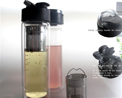 Glass Thermal Tea Brewer with Strainer Online