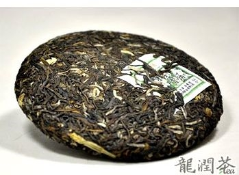 Ancient Tree Organic Jasmine Puerh Cake