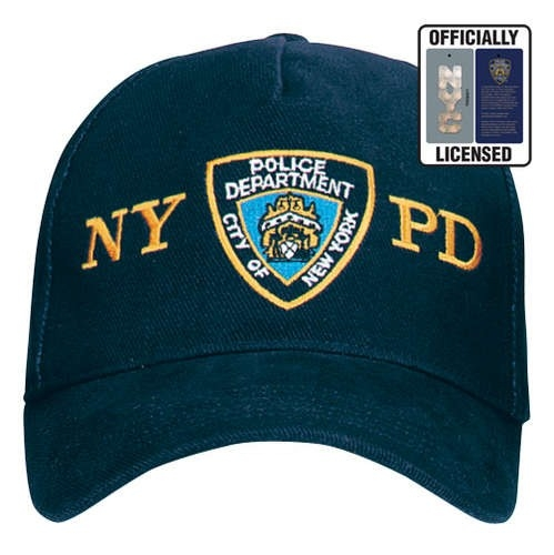 867cdbe41 OFFICIALLY LICENSED NYPD ADJUSTABLE CAP WITH EMBLEM