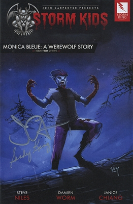 Monica Bleue: A Werewolf Story - Issue 2