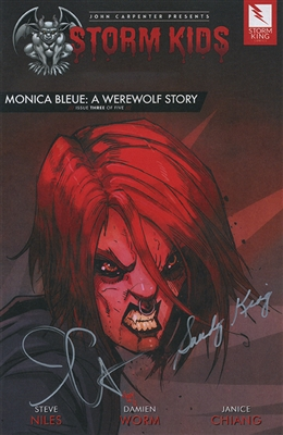 Monica Bleue: A Werewolf Story - Issue 3