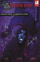 Monica Bleue: A Werewolf Story - Issue 4
