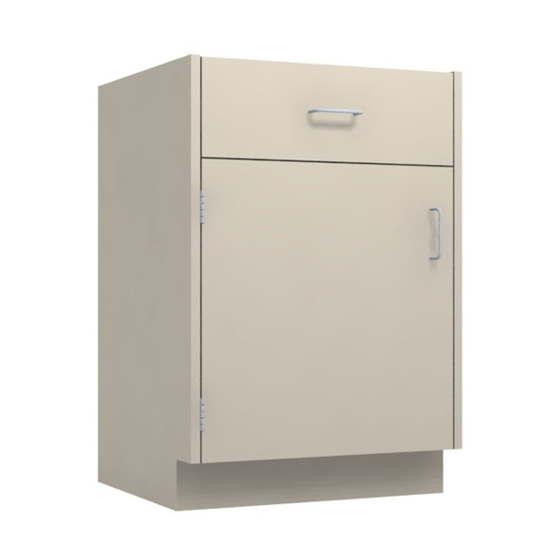 24 W Left Hinged Drawer Over Door Base Cabinet 24 X 34 34 X 22d