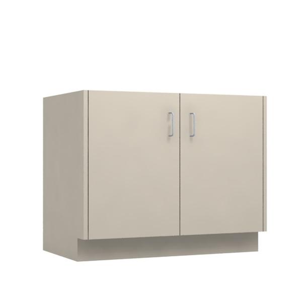36 W 2 Door Base Cabinet 36 X 28 34 X 22d Desk Height