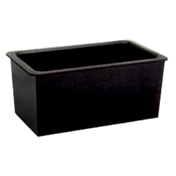 D55 Black Epoxy Sink - Corner Drain (25