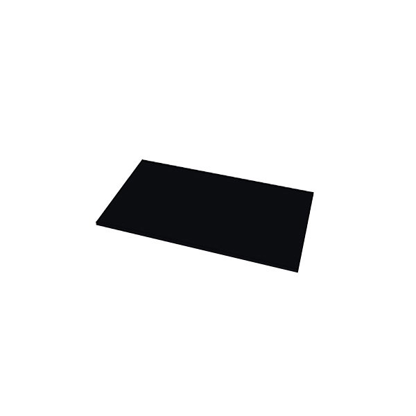 Wondrous 48 W Black Epoxy Top W Beveled Edges 48 X 30D Download Free Architecture Designs Scobabritishbridgeorg