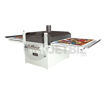 "Mogk PTP-1450D <br>Semi-Automatic Heat Press Dual Shuttle <br> 39"" x 57"""