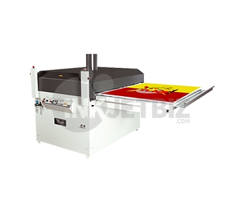 "Mogk PTP-900S <br>Semi-Automatic Heat Press <br> Single Shuttle <br> 33.5"" X 43"""