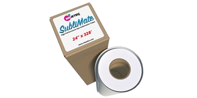"SubliMate <br> Dye Sublilmation Paper <br> 24"" X 328' ROLL"