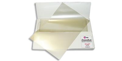 "ScreenMate<br> Color Separation Film<br> 11"" X 17"" <br> 100 SHEETS"