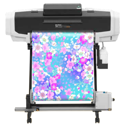 Mutoh ValueJet 628MP Printer<br>with Resin Wonder Ink
